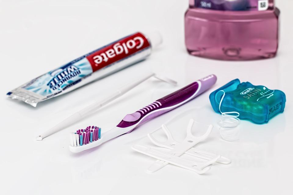 dentistry, teeth, toothbrush, floss, mouthwash
